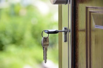 Home lock re-key service