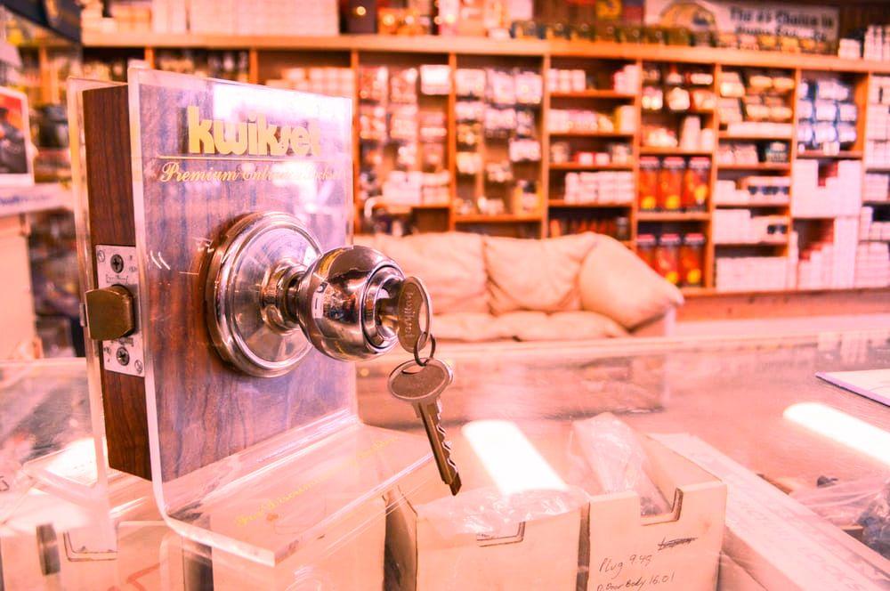 Big D Lock Key
