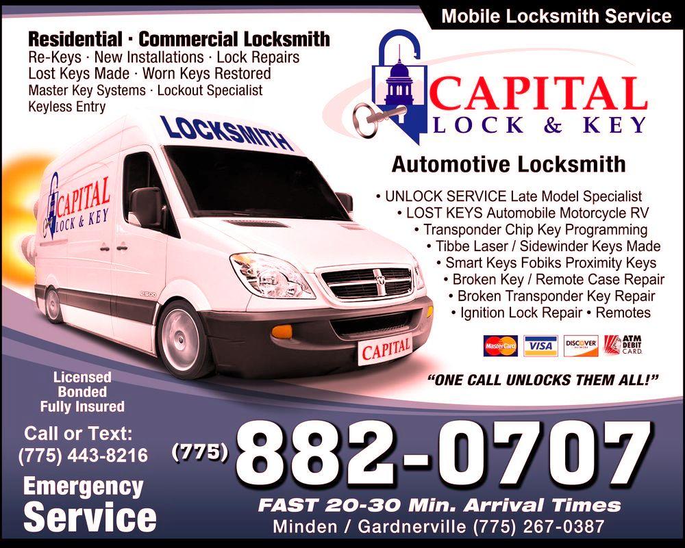 Capital Lock Key