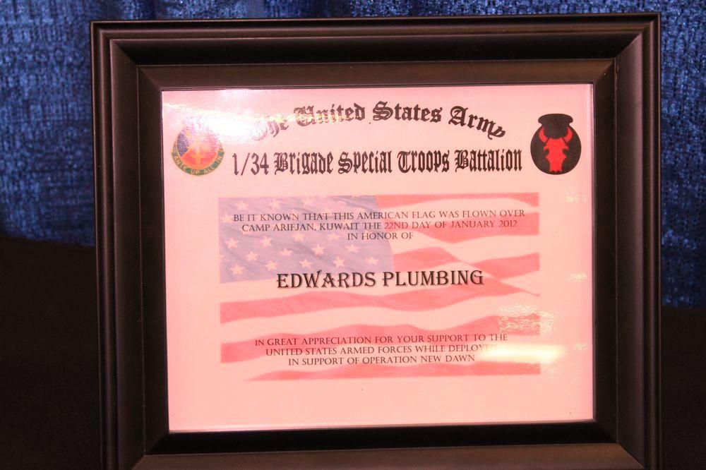 edward s plumbing faucet installation
