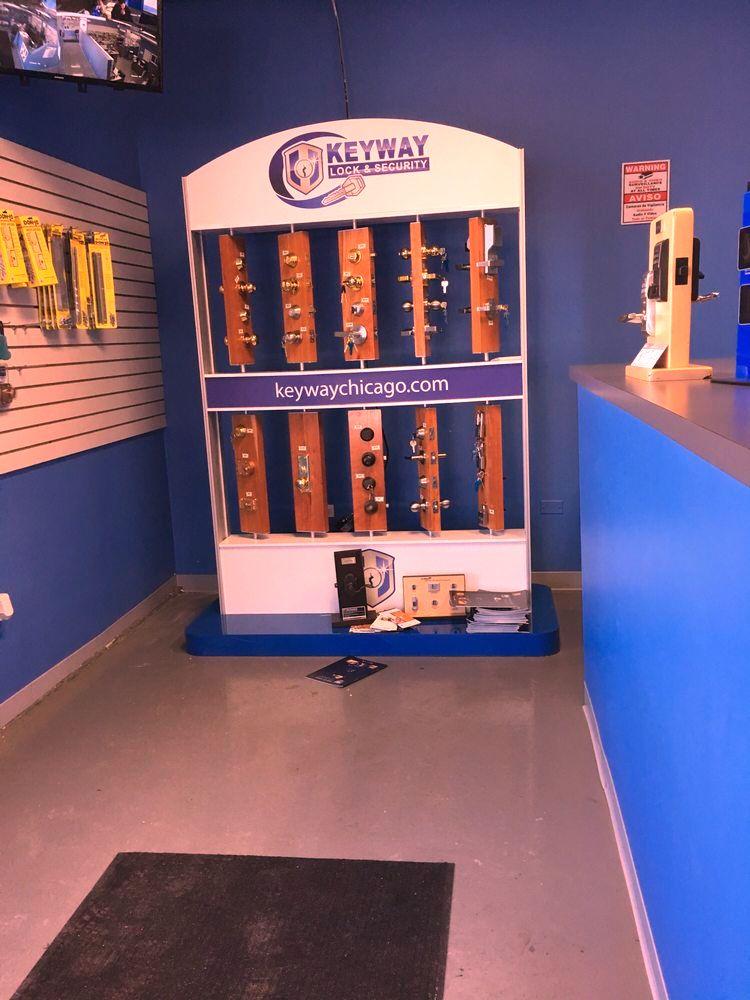 keyway lock   security company remote control system repair