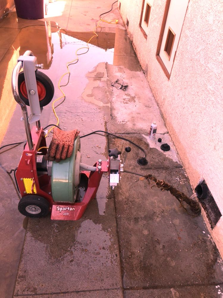 plumbing rooter  less sewer services