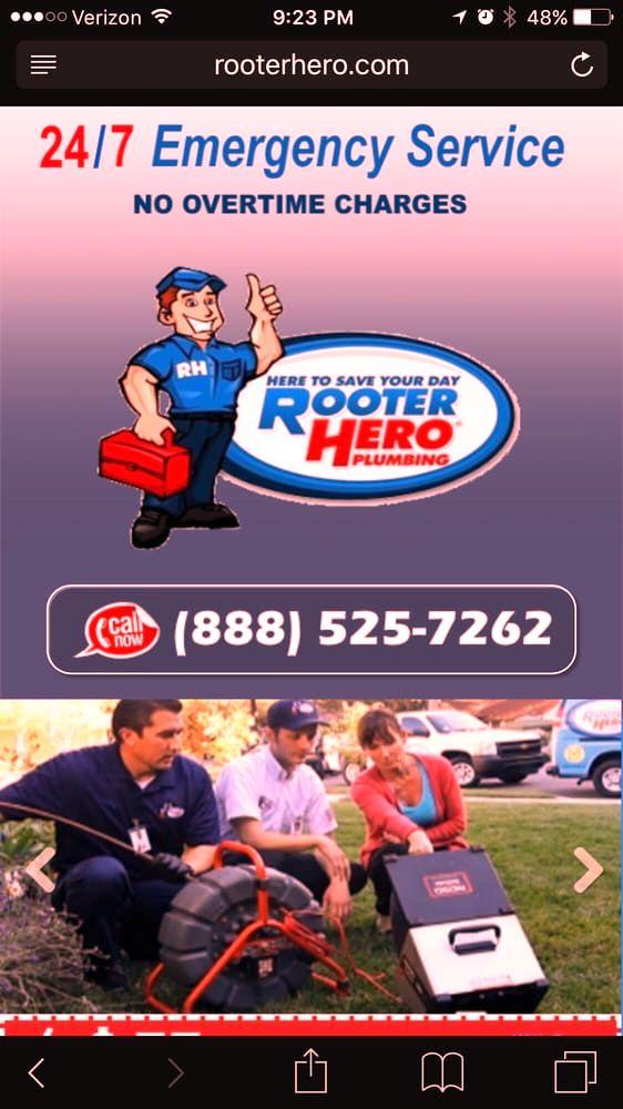 rooter hero plumbing