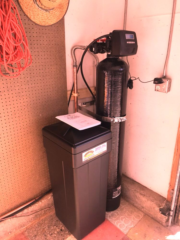 serv-all water conditioning repair installation company water heater repair