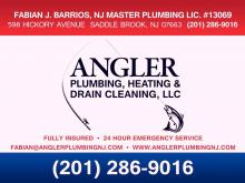 angler plumbing heating drain cleaning sink installation
