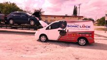 sonic lock n tow car unlocking