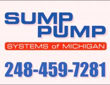 sump pump systems of michigan sewer services