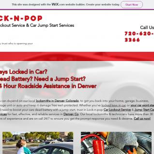 Locknpop Auto Lockout Service & Dead Battery Jumpstart Services