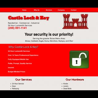 Castle Lock & Key